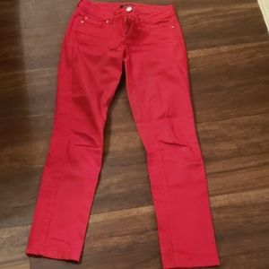 Red size 0 Jean's